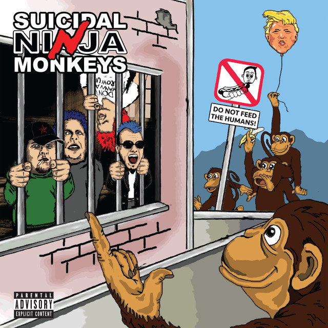 Suicidal Ninja Monkeys